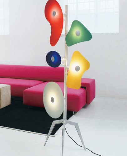 _-) Orbital floor lamp multicolor Canada | Milwaukee, Wisconsin ...