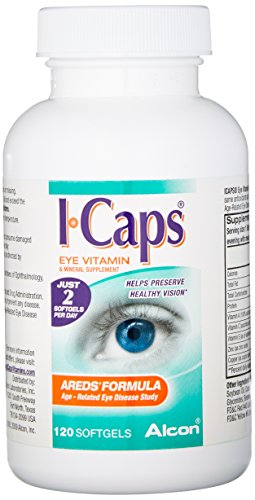 Icaps Areds Formula Eye Vitamin and Mineral Supplement
