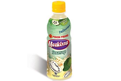Markizza Soursop Juice (100% All Natural) - 11.15Fl Oz (330Ml) - Pack Of 24