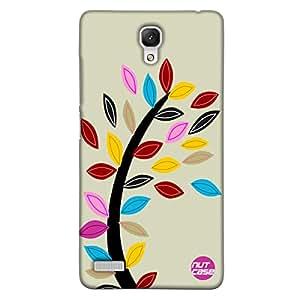 Designer xiaomi Note 4G Case Cover Nutcase - Stiched Leaves