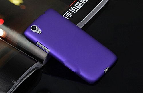 Click to buy Dimike PC Ultra Slim Hard Back Case Protector Cover for Lenovo VIBE X S960 S968T Smartphone(Purple) - From only $45.99