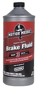 Motor Medic by Gunk M4432 DOT 3 Heavy Duty Brake Fluid - 32 oz.