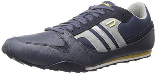 Diesel Men's Long Term Gunner S Fashion Sneaker, Indigo/