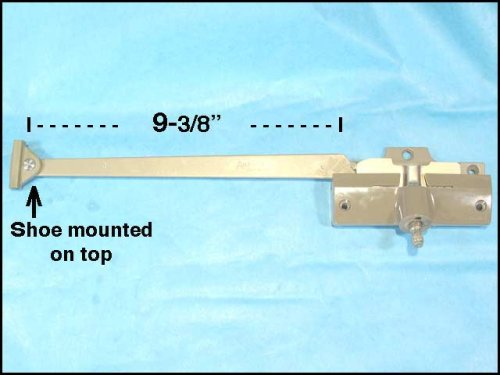 with 9-3//8 Inch Arm Length in Stone Andersen Straight Arm Operator Right Hand
