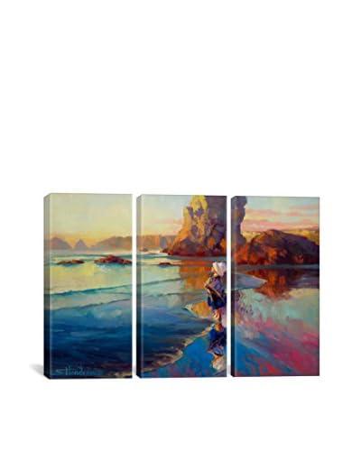 Steve Henderson Bold Innocence Gallery Wrapped Canvas Print, Triptych