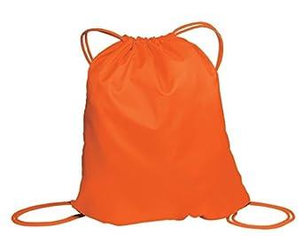 Port & Company BG85 Cinch Pack - Bright Orange - OSFA