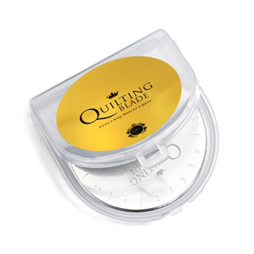 Quilting Blade, 45mm Rotary Cutter Blades, 5-pack