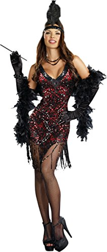 Dreamgirl Womens Sexy Dames Like Us 1920'S Adults Theme Party Halloween Costume