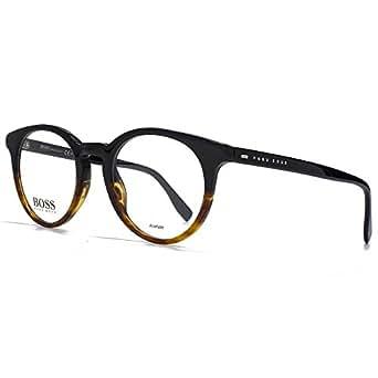 HUGO BOSS 0681 Eyeglasses 0OHQ Black Havana 49-21-145