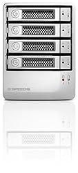 G-Technology G-SPEED Q 16TB High Speed RAID Array with eSATA/USB 2.0/Firewire 800/400 Interfaces (0G02319)
