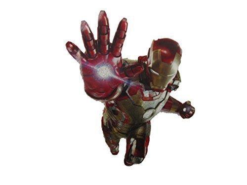 Kostüm Augenklappe Marvel Iron Man Superheld Weich Stil zum Aufbügeln Hitze Übertragung