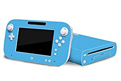 Nintendo Wii U Skin New Ice Blue System Skins Faceplate Decal Mod