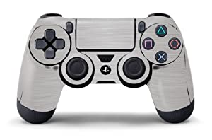 PS4 Controller Designer Skin for Sony PlayStation 4 DualShock Wireless Controller - Steel