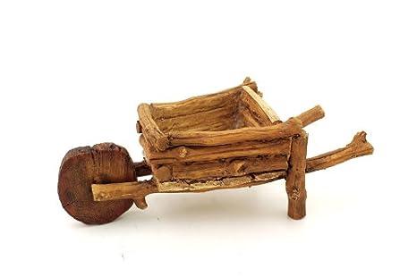 Miniature Wood Wheelbarrow
