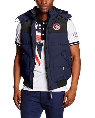 Geographical Norway Chaleco Vortex Azul Marino