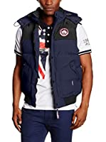 Geographical Norway Chaleco Vortex (Azul Marino)