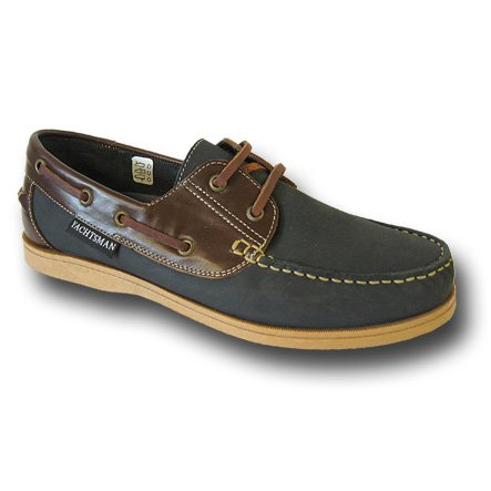 Mens SEAFARER HELMSMAN boat DECK SHOES M132 Navy-Brown UK9