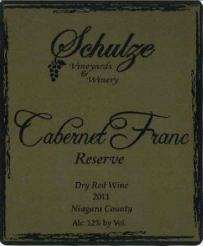 2011 Schulze Vineyards Cabernet Franc Reserve 750 Ml