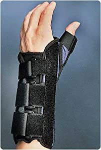 Wrist Brace with Thumb Spica, Right Size: L