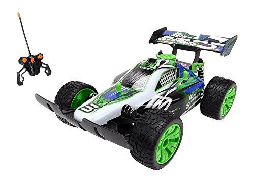 Dickie Spielzeug 201119052 - RC Dirt Slammer, Ready to Run, 2-Kanal Funkfernsteuerung,  26 cm, weiß/grün