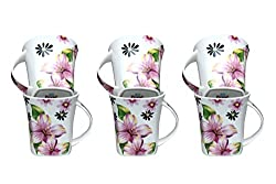 Pearl Tea & Coffee Cups Set of 6 Pieces(160 ml)