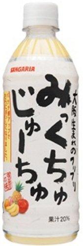 【大阪生まれのフリフリ】みっくちゅじゅーちゅ500ml×24本