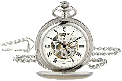 Charles-Hubert Pocket Watch 3819 Two Tone Double Hunter