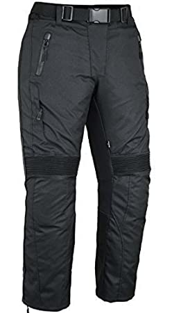 Femmes Protection Moto Pantalons Imperméable - W34 L32