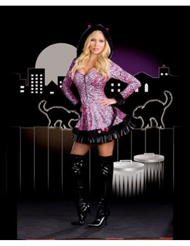 Adult-Costume Pouncer Sm Halloween Costume - Adult Small