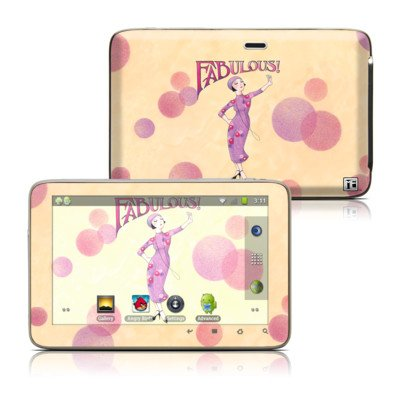 Fabulous Design Protective Decal Skin Sticker For Latte Ice Smart 5 Inch Hd Smart Media Tablet front-943932