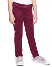 Cotton Rich Adjustable Waist Corduroy Trousers