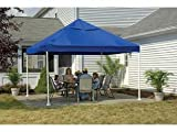 ShelterLogic 12 x 12- Feet Canopy 2- Inch 4-Leg Frame, Blue Cover