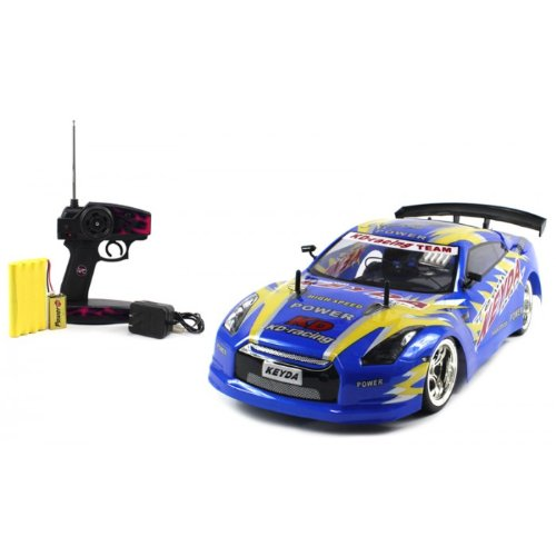 Best Electric Full Function 1:10 CT Speed Racing Nissan GTR 10+MPH RTR RC Car (Colors May Vary)  Review