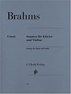 Sonatas For Piano And Violin - Piano And Violin - Hn 194 from G. Henle Verlag