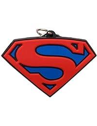 Dc Comics Superman Rubber Keychain High Quality Super Man Logo Keychain