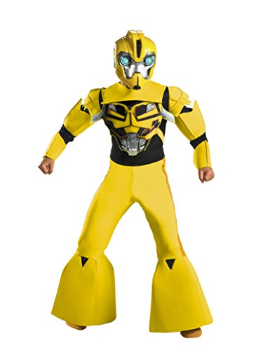 Boys Bumblebee Deluxe Kids Child Fancy Dress Party Halloween Costume
