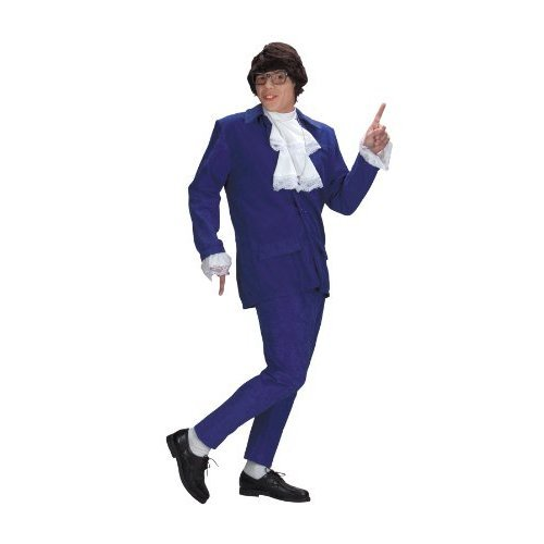Austin Powers Costume Halloween Party - Standard (42-46) - DG5428