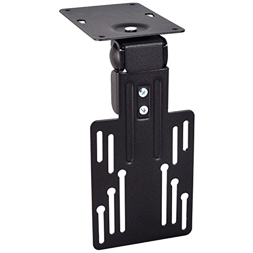 OSD Audio TSM-CM LCD Tilt Swivel Under Cabinet Mount for 10 to 23-Inches TV Black (Black)