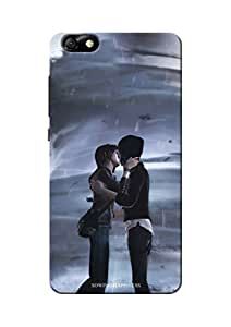 Sowing Happiness Printed Back Cover for Huawei Honor 4X