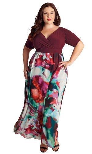 IGIGI Plus Size Tamryn Maxi Dress 12