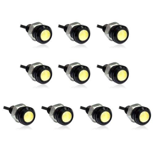 Zps(Tm) 10Pcs 3W Eagle Eye Car Led Light White Daytime Running Drl Tail Backup Light