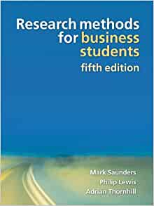 research methods for business students saunders