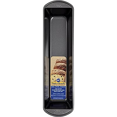 "Wilton Industries 2105-6082 Perfect Results Loaf Pan, 16"" x 4.5"""