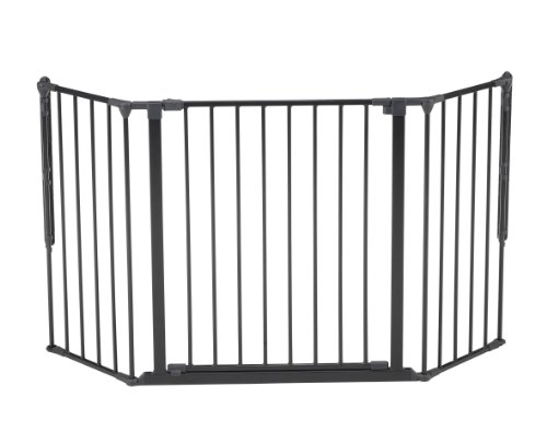Baby Dan Flex Safety Gates, Black, Medium - 1