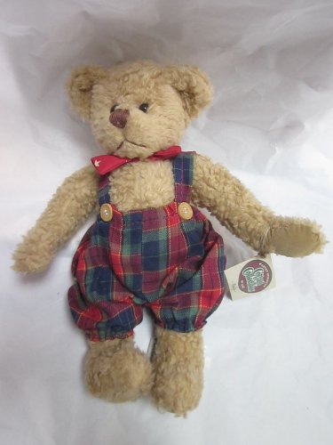 "GANZ Cottage Collectibles BUDDY 12"" Bear Plush 1995 - 1"