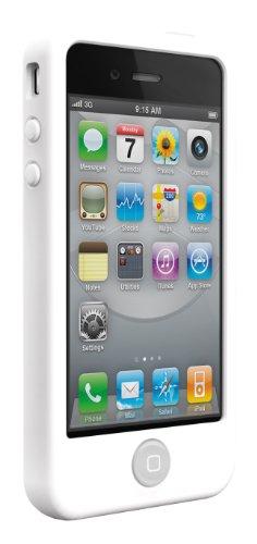 SwitchEasy - Coque en silicone avec 2 films de protection d'écran pour iPhone 4...