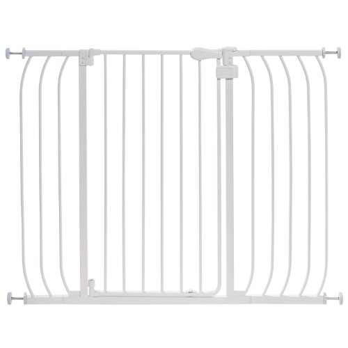 Summer Infant Multi-Use Extra Tall Walk-Thru Gate, White (Extra Tall Pressure Mount Gate compare prices)