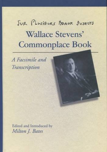 Sur Plusieurs Beaux Sujects: Wallace Stevens PDF