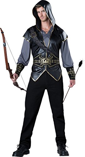 InCharacter Costumes Men's Hooded Huntsman Costume