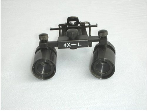 Dental Medical Surgical Optical Binocular Loupes 4.0X Magnification Clip-On Cm400